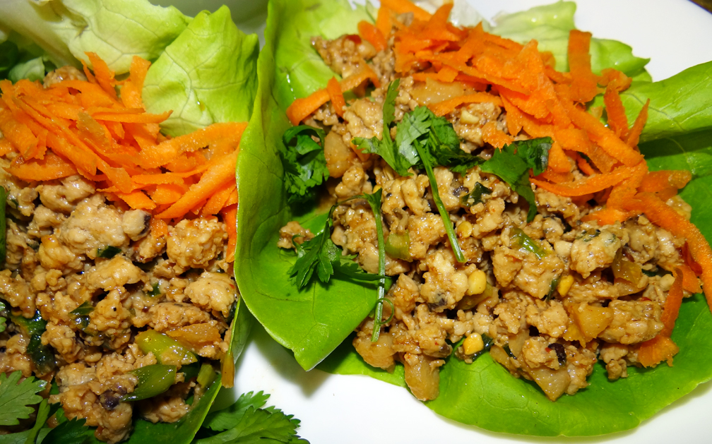 Asian Chicken Lettuce Wraps - Gluten Free - Bella Vita FitnessBella ...